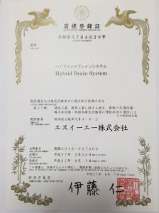 ハイブリッドブレインシステム商標